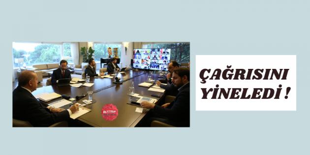 Erdoğan, İl Başkanları Toplantısına katıldı