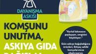 KARTAL BELEDİYESİ'NDEN MARKETLERE DAYANIŞMA ASKISI