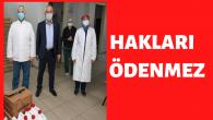 Başkan Büyükgöz'den; Sağlıkçılara Malzeme Desteği