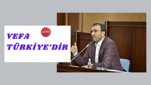 Başkan Ahmet Cin basını bilgilendirdi