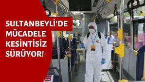 Özel Halk Otobüsleri Dezenfekte Edildi