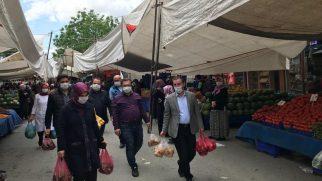 Başkan Tombaş'dan Sosyal Yardım Personeline Teşekkür