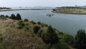 Zorlu bölgelerde ilaçlama drone ile yapıldı