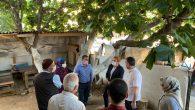 Başkan Keskin'den Şehit Ailelerine Ziyaret