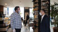 Açılan Dükkânlarda Siftah, Başkan Keskin'den
