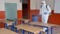 LGS öncesi okullar dezenfekte ediliyor