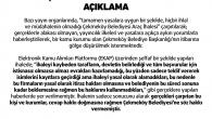 """""""ÇAMUR AT İZİ KALSIN"""" MAKSATLI ARAÇ İHALESİ YAYINLARI HAKKINDA AÇIKLAMA"""