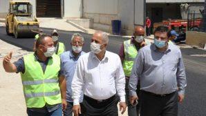 Gebze'de Hummalı Asfalt Çalışmaları