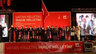 15 Temmuz Demokrasi ve Milli Birlik ruhu Sancaktepe'de yaşatıldı