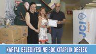 KARTAL BELEDİYESİ'NE 500 KİTAPLIK DESTEK