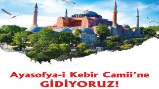 Ayasofya-i Kebir Camii Gezileri Başlıyor