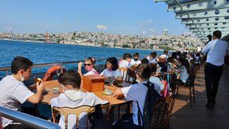Bilge Çocuklara Boğaz Turu Düzenlendi