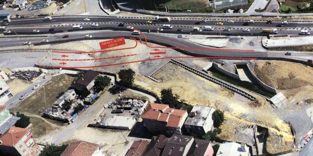Kavakpınar Abdi İpekçi Caddesi yan yola bağlanıyor
