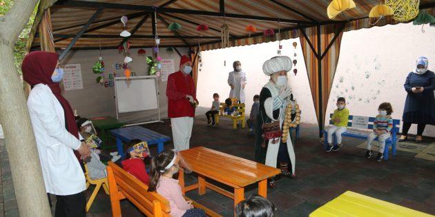 Sultanbeyli'de Çocuk Kahramanlarından Pandemi Eğitimi