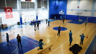 Gençler, Spor ve Polis Akademilerine hazırlanıyor
