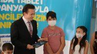 Tuzla'da Askıda Tablet ile Kesintisiz Eğitime Tam Destek