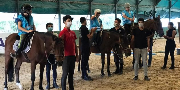 Atla Terapi Engelli Çocuklara Şifa Oluyor