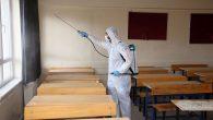 Ümraniye'deki Tüm Okullar Dezenfekte Edildi