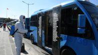 Gebze-Harem Minibüsleri'ne Dezenfektan Ünitesi