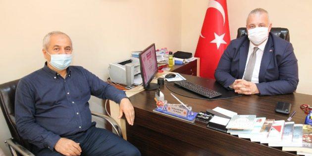 Büyükgöz'den MHP'ye Hayırlı Olsun Ziyareti