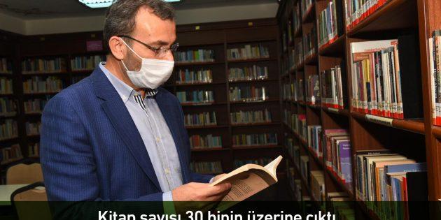 Yenilenen Kemal Tahir Kütüphanesi açıldı