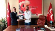 Başkan Tombaş'dan Çınar'a Hayırlı Olsun Ziyareti