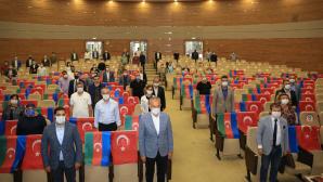 ÇEKMEKÖY BELEDİYE MECLİSİNDEN AZERBAYCAN'A DESTEK