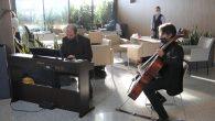 Ümraniye'de Belediye Çalışanlarına Müzikli Karşılama
