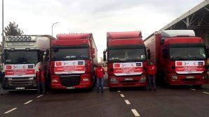 Azerbaycan'a ikinci yardım konvoyu yola çıkıyor
