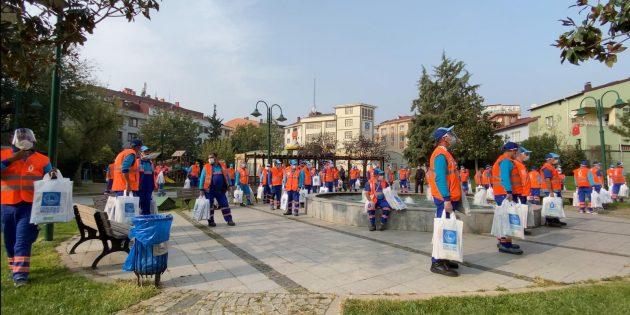 ÜSKÜDAR BELEDİYESİ'NDEN DEV SU TASARRUFU KAMPANYASI!