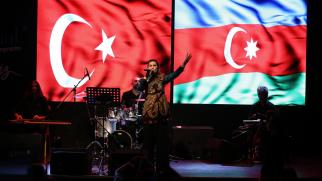 AZERBAYCAN DEVLET SANATÇISI AZERİN, 2020-2021 KÜLTÜR SANAT SEZONU AÇILIŞ PROGRAMI'NDA SAHNE ALDI