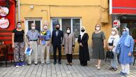 Tuzla'da Büyüklere Anlamlı Ziyaret