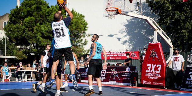 Ümraniye'de Sokak Basketbolu Turnuvası Nefes Kesti