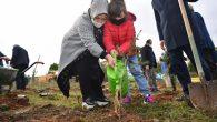 Sancaktepe'de Fidanlar Toprakla Buluştu
