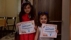 E-Hadi Etkinliklerine Katılan Çocuklara Teşekkür Belgesi