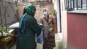 Tuzla'da 65 Yaş Üstü İhtiyaç Sahibi Vatandaşlara Temizlik Seti Dağıtımı