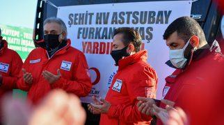 Tuzla'dan Cinderesi Mağdurlarına 163'üncü Tır Yola Çıktı