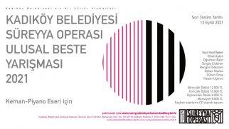 2021 Yılı Süreyya Operası Ulusal Beste Yarışması Açıldı