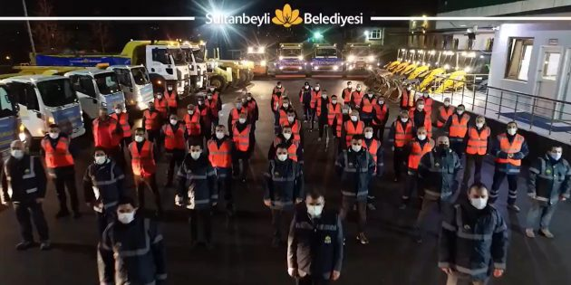 Sultanbeyli'de Kış Hazırlıkları Tamam
