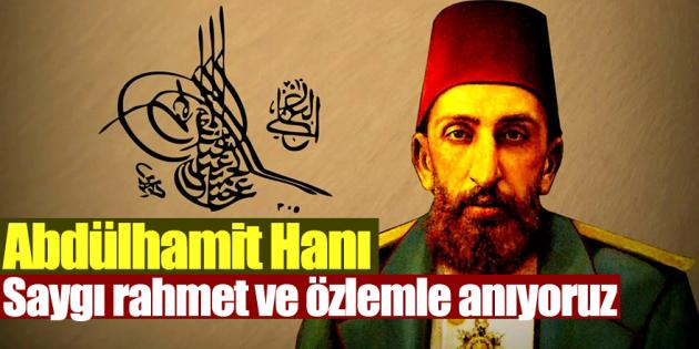 2'inci Abdülhamid Ölüm Yıl Dönümünde Anıldı