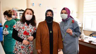 Sancaktepe Belediyesi 14 Mart Tıp Bayramı'nda Sağlık Çalışanlarını Unutmadı