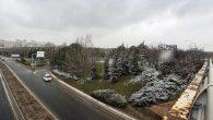İstanbul'da nisan ayında kar ve dolu sürprizi! Gören şaşkına döndü…