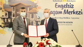 Sultanbeyli'de Engelsiz Yaşam Merkezi Projesi Hayata Geçiyor