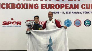Samet Oruç, Uluslararası Türkiye Açık Kick Boks Avrupa Kupası'nda Şampiyon Oldu