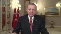 """Cumhurbaşkanı Erdoğan'dan """"Fetih"""" mesajı"""