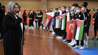 Sancaktepe Belediyesi'nden Olimpiyatlara Hazırlanan Filistinli Sporculara  Jest
