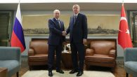 Cumhurbaşkanı Erdoğan, Putin ile Filistin'i görüştü