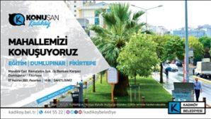 Kadıköy'de Mahalle Toplantıları Kaldığı Yerden Devam Ediyor