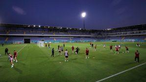 A Milli Futbol Takımı, Bakü'deki ilk çalışmasını yaptı