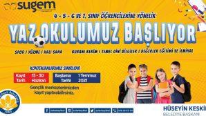 Sultanbeyli'de Yaz Okulları kayıtları başladı